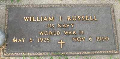 RUSSELL (VETERAN WWII), WILLIAM I. - Marion County, Arkansas | WILLIAM I. RUSSELL (VETERAN WWII) - Arkansas Gravestone Photos