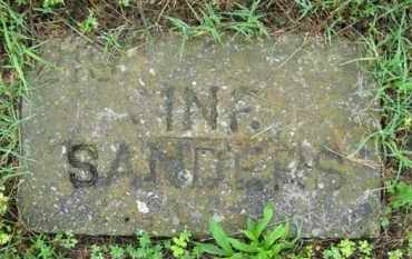 SANDERS, INFANT - Marion County, Arkansas | INFANT SANDERS - Arkansas Gravestone Photos