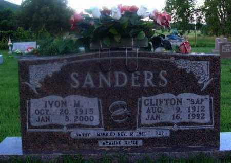"SANDERS, CLIFTON ""SAP"" - Marion County, Arkansas 