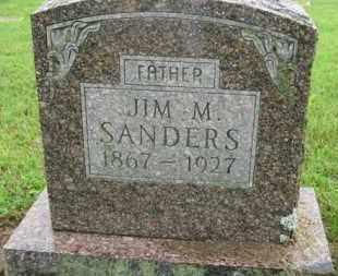 "SANDERS, JAMES MONROE ""JIM"" - Marion County, Arkansas | JAMES MONROE ""JIM"" SANDERS - Arkansas Gravestone Photos"