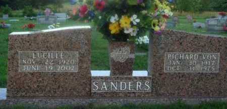 SANDERS, LUCILLE - Marion County, Arkansas | LUCILLE SANDERS - Arkansas Gravestone Photos
