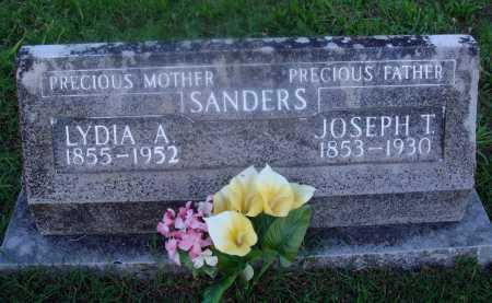 SANDERS, JOSEPH T. - Marion County, Arkansas | JOSEPH T. SANDERS - Arkansas Gravestone Photos