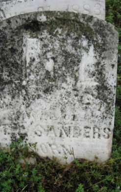 SANDERS, MARGARET - Marion County, Arkansas | MARGARET SANDERS - Arkansas Gravestone Photos
