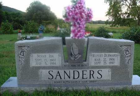 SANDERS, RUPERT DURWARD - Marion County, Arkansas | RUPERT DURWARD SANDERS - Arkansas Gravestone Photos
