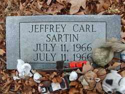 SARTIN, JEFFREY CARL - Marion County, Arkansas | JEFFREY CARL SARTIN - Arkansas Gravestone Photos