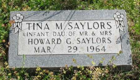 SAYLORS, TINA M. - Marion County, Arkansas | TINA M. SAYLORS - Arkansas Gravestone Photos