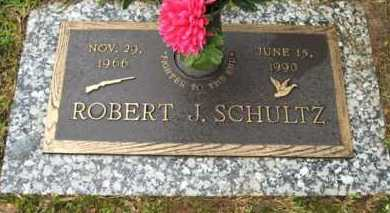 SCHULTZ, ROBERT J. - Marion County, Arkansas | ROBERT J. SCHULTZ - Arkansas Gravestone Photos