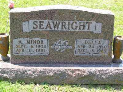 SEAWRIGHT, MINOR - Marion County, Arkansas | MINOR SEAWRIGHT - Arkansas Gravestone Photos