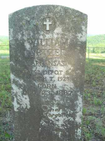 SETZER  (VETERAN WWI), WILLIAM - Marion County, Arkansas | WILLIAM SETZER  (VETERAN WWI) - Arkansas Gravestone Photos