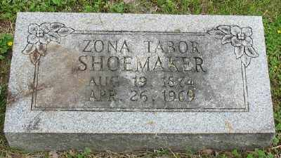 TABOR SHOEMAKER, ZONA - Marion County, Arkansas | ZONA TABOR SHOEMAKER - Arkansas Gravestone Photos