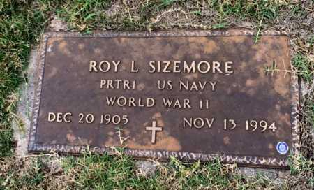 SIZEMORE (VETERAN WWII), ROY L - Marion County, Arkansas | ROY L SIZEMORE (VETERAN WWII) - Arkansas Gravestone Photos