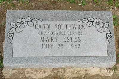 SOUTHWICK, CAROL - Marion County, Arkansas | CAROL SOUTHWICK - Arkansas Gravestone Photos