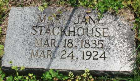 STACKHOUSE, MARY JANE - Marion County, Arkansas | MARY JANE STACKHOUSE - Arkansas Gravestone Photos
