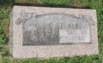 STANLEY, ALSIE - Marion County, Arkansas | ALSIE STANLEY - Arkansas Gravestone Photos