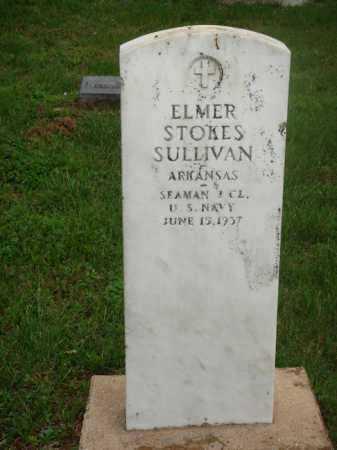SULLIVAN  (VETERAN), ELMER STOKES - Marion County, Arkansas | ELMER STOKES SULLIVAN  (VETERAN) - Arkansas Gravestone Photos