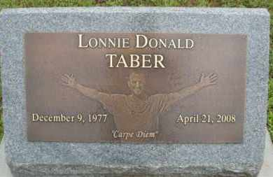 TABER, LONNIE DONALD - Marion County, Arkansas | LONNIE DONALD TABER - Arkansas Gravestone Photos