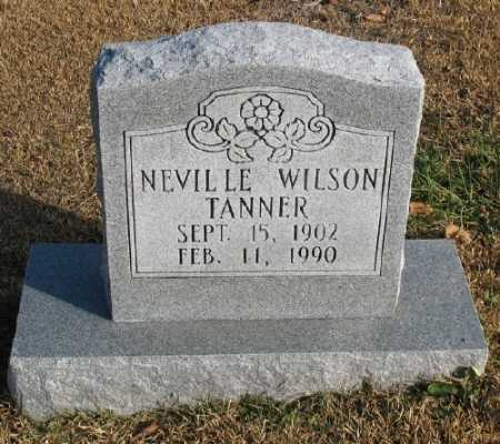TANNER, NEVILLE WILSON - Marion County, Arkansas | NEVILLE WILSON TANNER - Arkansas Gravestone Photos