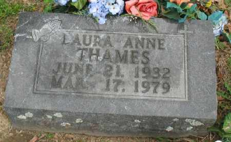 THAMES, LAURA ANNE - Marion County, Arkansas | LAURA ANNE THAMES - Arkansas Gravestone Photos