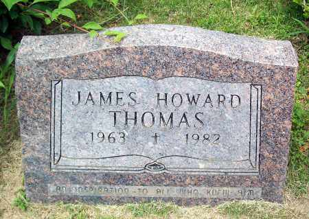 THOMAS, JAMES HOWARD - Marion County, Arkansas | JAMES HOWARD THOMAS - Arkansas Gravestone Photos