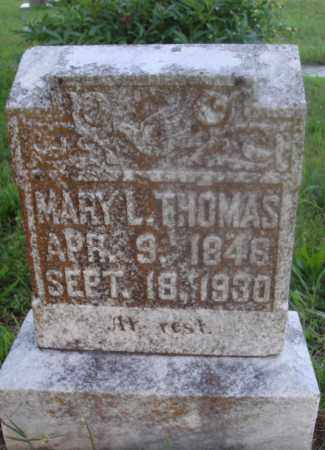THOMAS, MARY L. - Marion County, Arkansas | MARY L. THOMAS - Arkansas Gravestone Photos