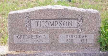 THOMPSON (VETERAN CSA), GREENBERY B. - Marion County, Arkansas | GREENBERY B. THOMPSON (VETERAN CSA) - Arkansas Gravestone Photos