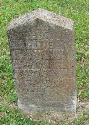 TIGUE, NANCY - Marion County, Arkansas | NANCY TIGUE - Arkansas Gravestone Photos