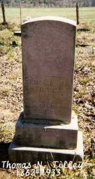 TILLEY, THOMAS N. - Marion County, Arkansas | THOMAS N. TILLEY - Arkansas Gravestone Photos