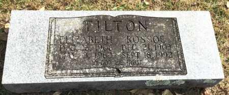 TILTON, ROSCOE - Marion County, Arkansas | ROSCOE TILTON - Arkansas Gravestone Photos