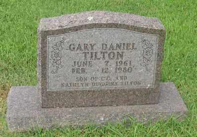 TILTON, GARY DANIEL - Marion County, Arkansas | GARY DANIEL TILTON - Arkansas Gravestone Photos