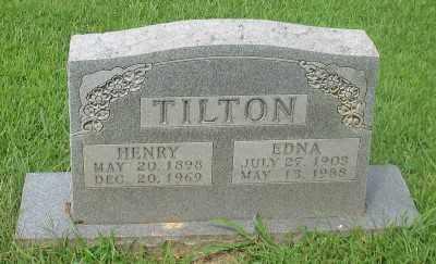 TILTON, EDNA - Marion County, Arkansas | EDNA TILTON - Arkansas Gravestone Photos