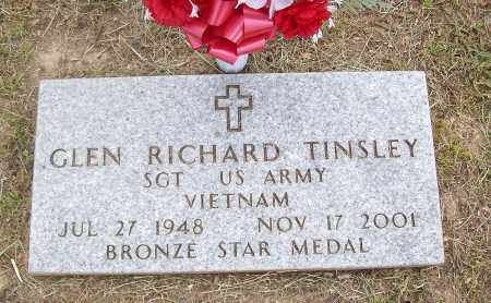 TINSLEY (VETERAN VIET), GLEN RICHARD - Marion County, Arkansas | GLEN RICHARD TINSLEY (VETERAN VIET) - Arkansas Gravestone Photos