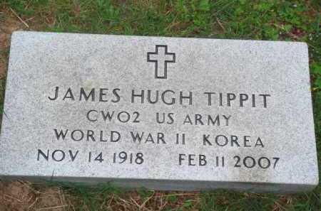 TIPPIT (VETERAN 2 WARS), JAMES HUGH - Marion County, Arkansas | JAMES HUGH TIPPIT (VETERAN 2 WARS) - Arkansas Gravestone Photos