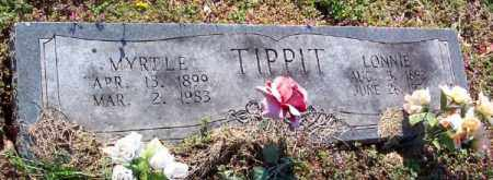 TIPPIT, MYRTLE - Marion County, Arkansas | MYRTLE TIPPIT - Arkansas Gravestone Photos