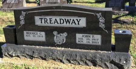 TREADWAY, JOHN F. - Marion County, Arkansas | JOHN F. TREADWAY - Arkansas Gravestone Photos