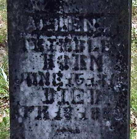 TRIMBLE, ALLEN (CLOSE UP) - Marion County, Arkansas | ALLEN (CLOSE UP) TRIMBLE - Arkansas Gravestone Photos
