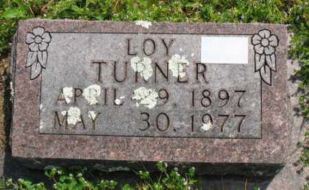 TURNER, LOY - Marion County, Arkansas | LOY TURNER - Arkansas Gravestone Photos
