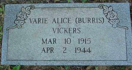 VICKERS, VARIE ALICE - Marion County, Arkansas | VARIE ALICE VICKERS - Arkansas Gravestone Photos