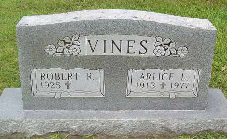 VINES, ARLICE L. - Marion County, Arkansas | ARLICE L. VINES - Arkansas Gravestone Photos