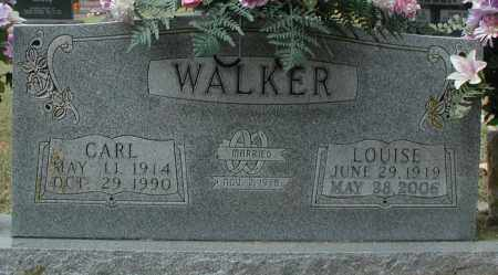 WALKER, LOUISE - Marion County, Arkansas | LOUISE WALKER - Arkansas Gravestone Photos