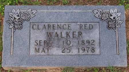 "WALKER, CLARENCE ""RED"" - Marion County, Arkansas 