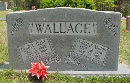 WALLACE, GLADYS IRENE - Marion County, Arkansas | GLADYS IRENE WALLACE - Arkansas Gravestone Photos