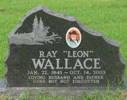 WALLACE, RAY LEON - Marion County, Arkansas | RAY LEON WALLACE - Arkansas Gravestone Photos