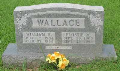 WALLACE, WILLIAM H. - Marion County, Arkansas | WILLIAM H. WALLACE - Arkansas Gravestone Photos