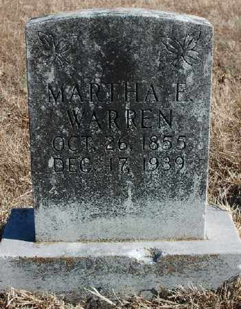 WARREN, MARTHA E. - Marion County, Arkansas | MARTHA E. WARREN - Arkansas Gravestone Photos