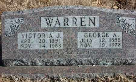 WARREN, GEORGE A. - Marion County, Arkansas | GEORGE A. WARREN - Arkansas Gravestone Photos
