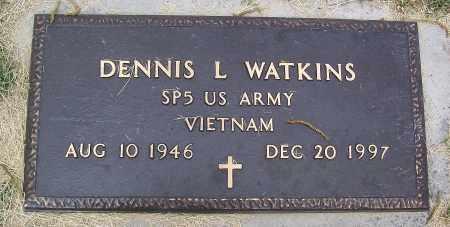 WATKINS (VETERAN VIET), DENNIS L - Marion County, Arkansas | DENNIS L WATKINS (VETERAN VIET) - Arkansas Gravestone Photos