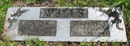 WELLS, EMMETT - Marion County, Arkansas | EMMETT WELLS - Arkansas Gravestone Photos