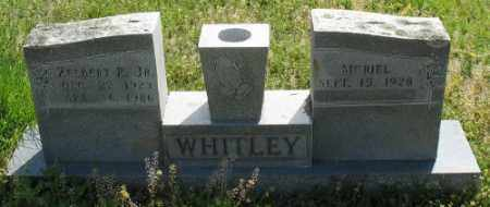 WHITLEY JR., ZELBERT P. - Marion County, Arkansas | ZELBERT P. WHITLEY JR. - Arkansas Gravestone Photos