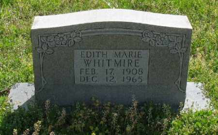 WHITMIRE, EDITH MARIE - Marion County, Arkansas | EDITH MARIE WHITMIRE - Arkansas Gravestone Photos