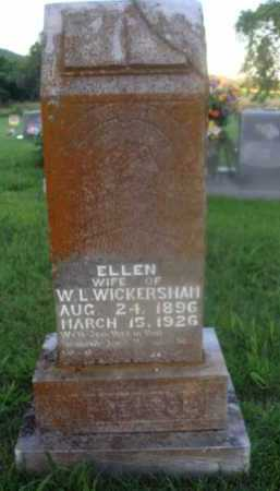 WICKERSHAM, ELLEN - Marion County, Arkansas | ELLEN WICKERSHAM - Arkansas Gravestone Photos